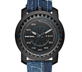 d71126ef5b Relógios da Diesel com pulseira de denim