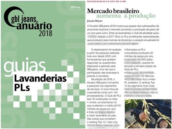 GBLjeans Anuário 2018 - Guias Lavanderias PLs - Imagem 1