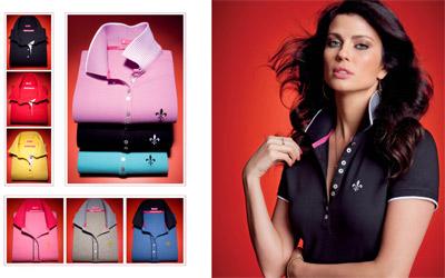 As camisas da coleção atual são produzidas em algodão com acabamento que  facilita o trabalho de passar a ferro b21edbd83b89b